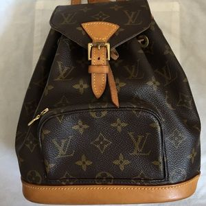 💋RETIRED 💋BACKPACK DISCONTINUED LOUIS VUITTON